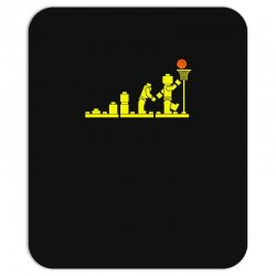 evolution lego basketball sports funny Mousepad | Artistshot