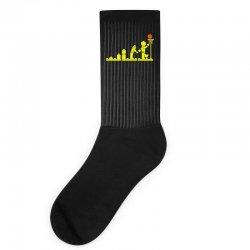 evolution lego basketball sports funny Socks | Artistshot