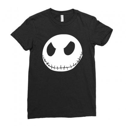 Jack Skellington The Nightmare Ladies Fitted T-shirt Designed By Mdk Art