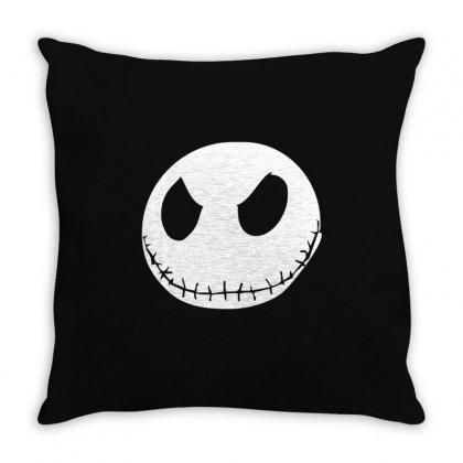Jack Skellington The Nightmare Throw Pillow Designed By Mdk Art