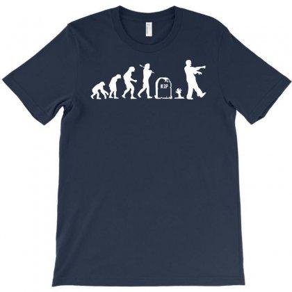 Zombie Evolution T-shirt Designed By Mdk Art