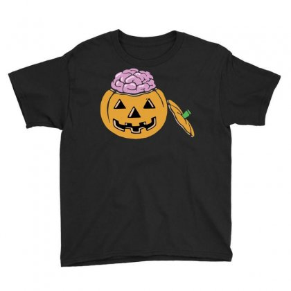 Halloween Pumpkin Youth Tee Designed By Sbm052017