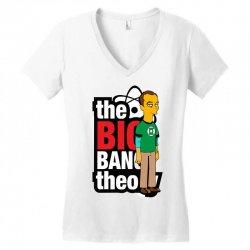 funny big bang theory sheldon, ideal gift or birthday present. Women's V-Neck T-Shirt | Artistshot
