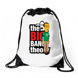 funny big bang theory sheldon, ideal gift or birthday present. Drawstring Bags | Artistshot