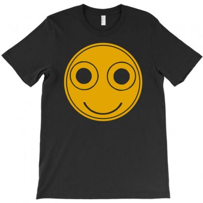 Funny Smiley Face T-shirt Designed By Mdk Art