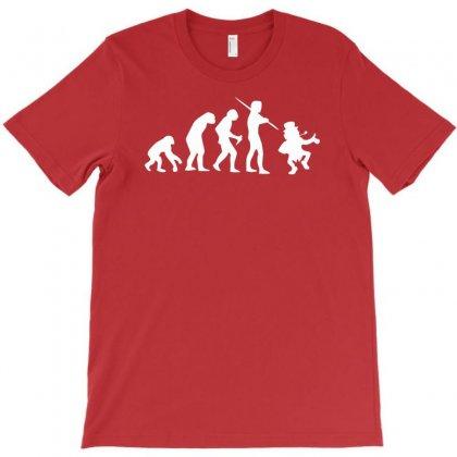 Evolution Of Leprechaun Funny Irish Ireland St Patricks Day Us T-shirt Designed By Mdk Art