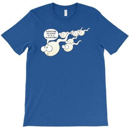 Funny Rude Sperm Bj Ideal Birthday Gift Or Presen T-shirt Designed By Mdk Art