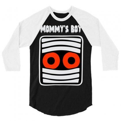 Mommy's Boy 3/4 Sleeve Shirt Designed By Sbm052017