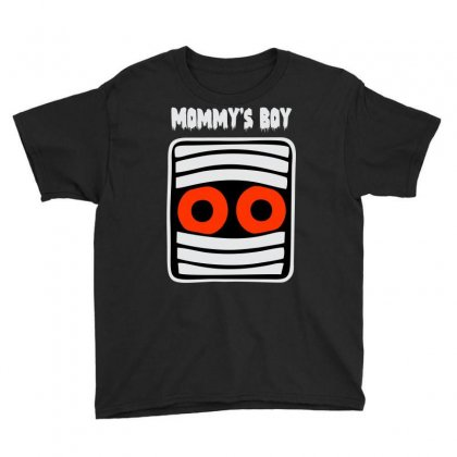 Mommy's Boy Youth Tee Designed By Sbm052017
