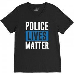 police lives matter V-Neck Tee | Artistshot