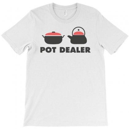 Pot Dealer Cooking Pot Tea Pot T-shirt Designed By Mdk Art