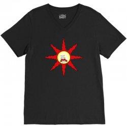 praise the screaming sun V-Neck Tee   Artistshot