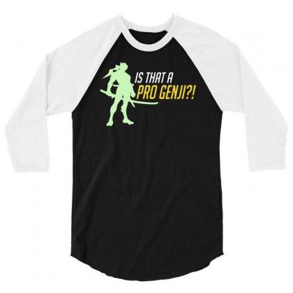 Pro 3/4 Sleeve Shirt Designed By Mdk Art