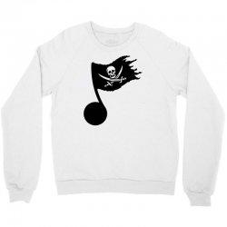 music pirate Crewneck Sweatshirt | Artistshot