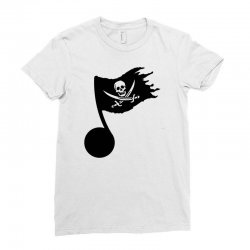 music pirate Ladies Fitted T-Shirt | Artistshot