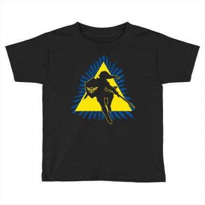 Link In Action Toddler T-shirt Designed By Mdk Art