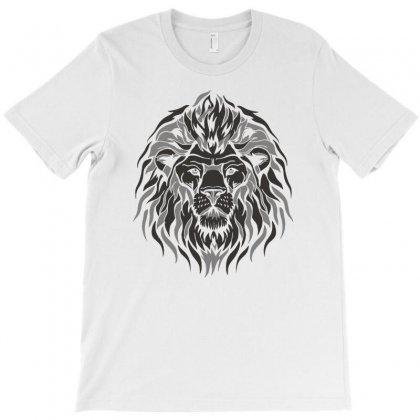 Lion El Rich Eyes T-shirt Designed By Mdk Art