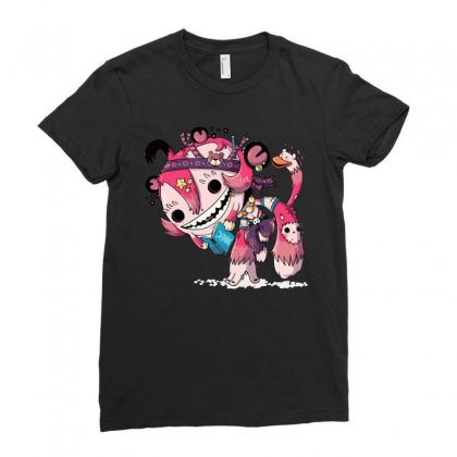 Literature Monkey Ladies Fitted T-shirt Designed By Mdk Art