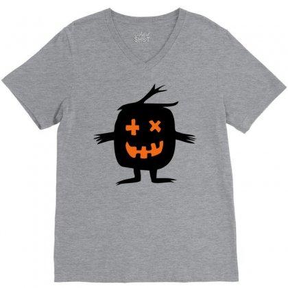 Monster V-neck Tee Designed By Sbm052017