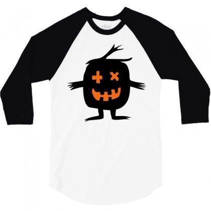 Monster 3/4 Sleeve Shirt Designed By Sbm052017