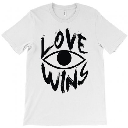 Love Wins T-shirt Designed By Mdk Art