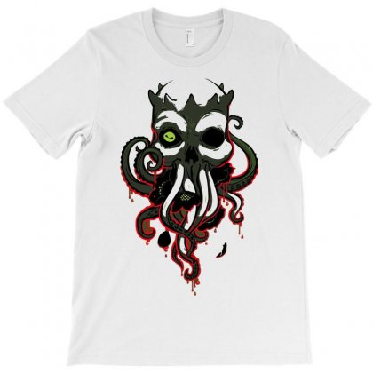Lovecraft T-shirt Designed By Mdk Art
