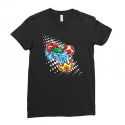 mario bros Ladies Fitted T-Shirt | Artistshot