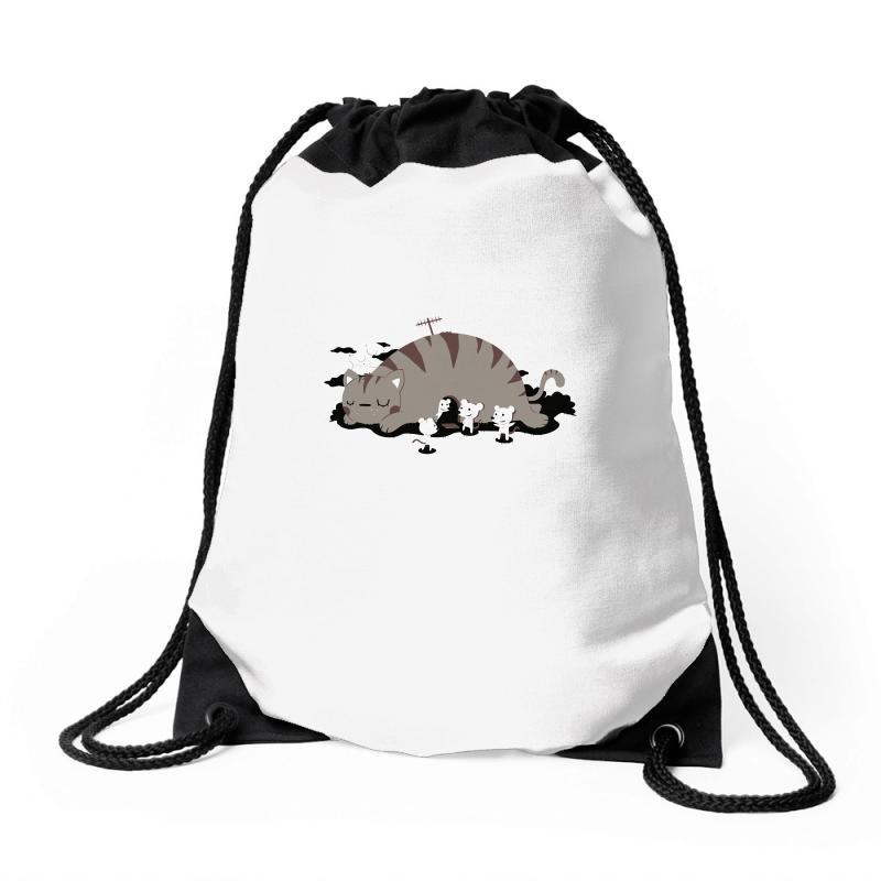 Meet My Home Drawstring Bags | Artistshot