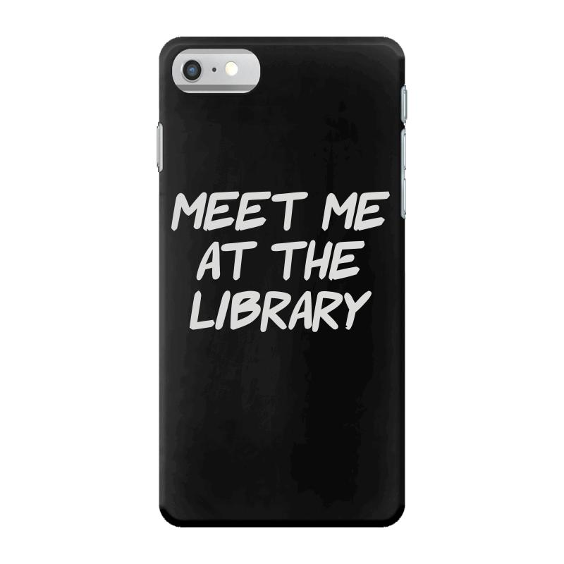 Meet Me At The Library Iphone 7 Case | Artistshot