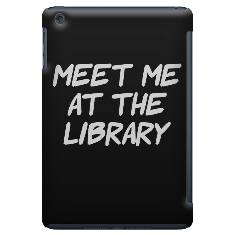 Meet Me At The Library Ipad Mini | Artistshot