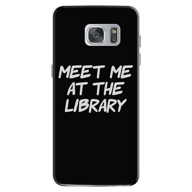 Meet Me At The Library Samsung Galaxy S7 | Artistshot