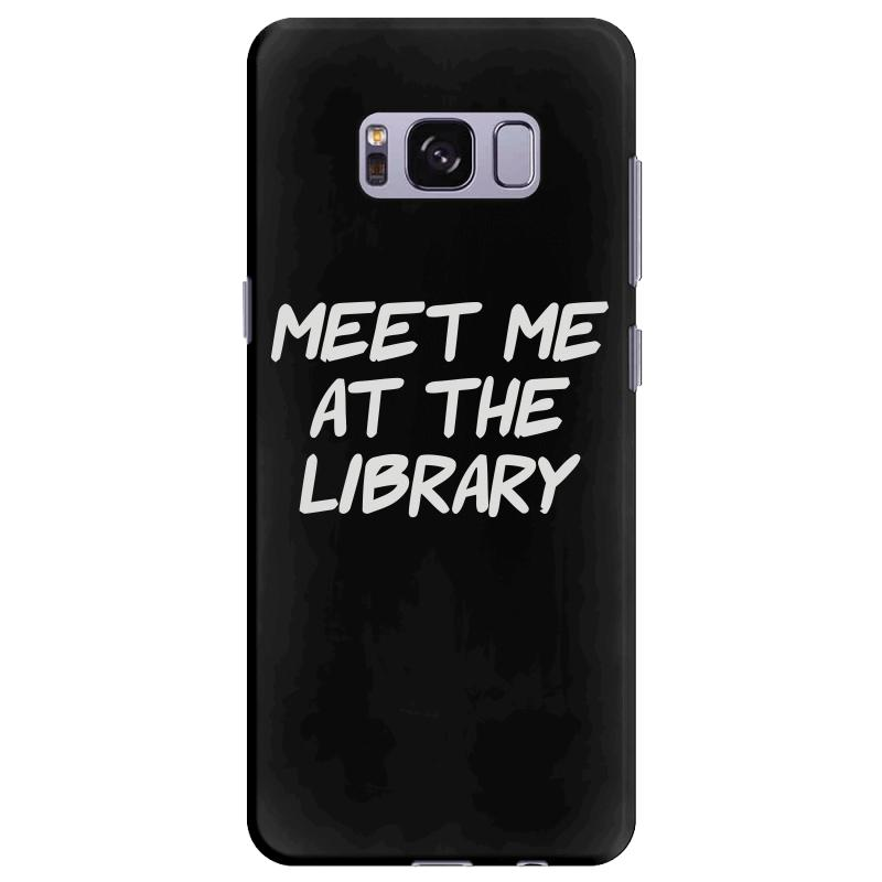 Meet Me At The Library Samsung Galaxy S8 Plus | Artistshot