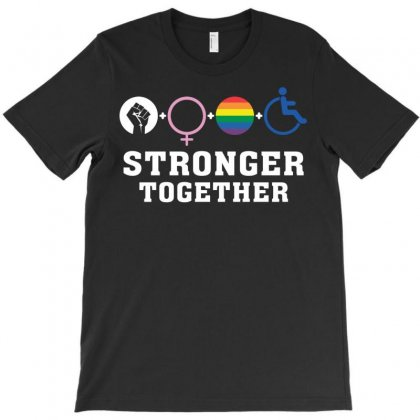 Stronger Together T-shirt Designed By Tshiart