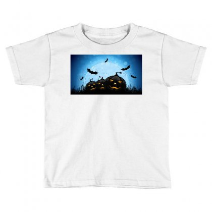 Halloween Toddler T-shirt Designed By Riyan28