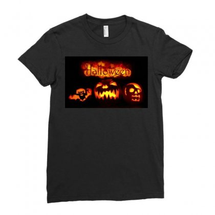 Halloween Ladies Fitted T-shirt Designed By Riyan28