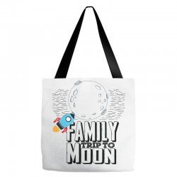 Family Trip To Moon Tote Bags   Artistshot
