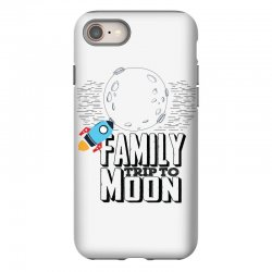 Family Trip To Moon iPhone 8 Case   Artistshot