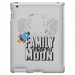Family Trip To Moon iPad 3 and 4 Case   Artistshot