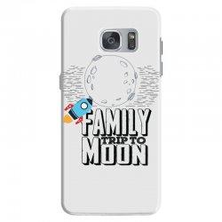 Family Trip To Moon Samsung Galaxy S7 Case   Artistshot