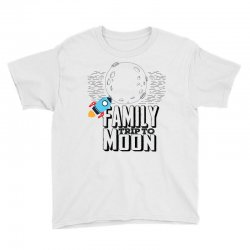 Family Trip To Moon Youth Tee   Artistshot