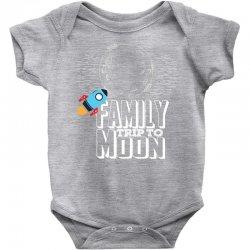 Family Trip To Moon Baby Bodysuit | Artistshot