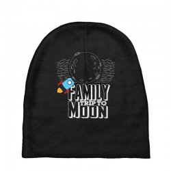 Family Trip To Moon Baby Beanies | Artistshot