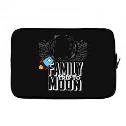 Family Trip To Moon Laptop sleeve | Artistshot