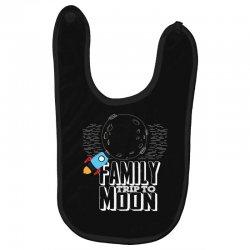Family Trip To Moon Baby Bibs | Artistshot