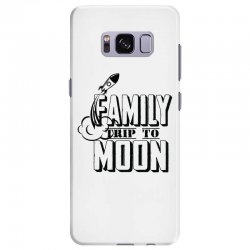 Family Trip To Moon Samsung Galaxy S8 Plus Case   Artistshot