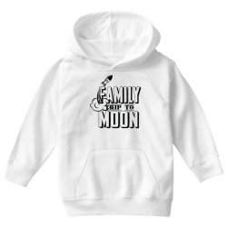 Family Trip To Moon Youth Hoodie   Artistshot