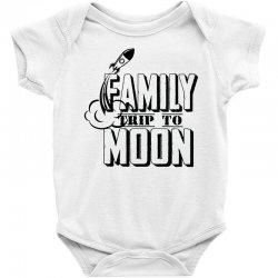 Family Trip To Moon Baby Bodysuit   Artistshot