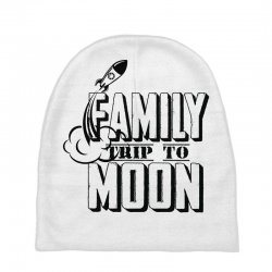 Family Trip To Moon Baby Beanies   Artistshot