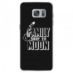 Family Trip To Moon Samsung Galaxy S7 Case | Artistshot