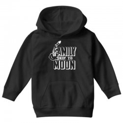 Family Trip To Moon Youth Hoodie | Artistshot